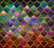 Морокканская картина мозаики Стоковые Фото