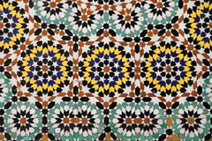 Морокканская мозаика Стоковое Изображение