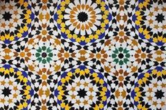 морокканская мозаика Стоковое фото RF