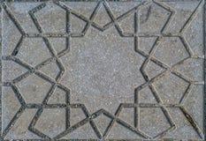 Морокканская плитка улицы Стоковые Фотографии RF