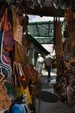 Морокканские кожаные ремесла Стоковые Фото