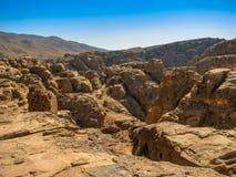 Морокканские пещеры в национальном парке Toubkal стоковые изображения