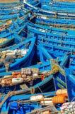 Морокканские рыбацкие лодки 3 стоковое фото
