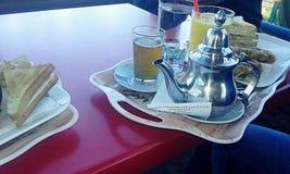 Морокканский завтрак стоковые изображения