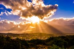 морокканский пейзаж стоковое изображение