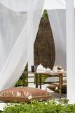 морокканский романтичный чай установки Стоковые Фото