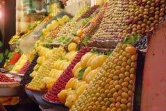 Морокканский рынок Стоковые Фото