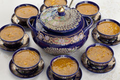 Морокканский суп harira Стоковое Изображение
