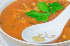 Морокканский суп harira Стоковые Изображения RF
