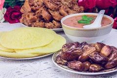 Морокканский суп harira Стоковое Фото