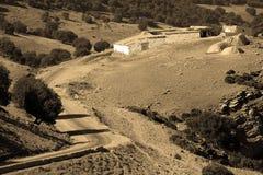 морокканское село Стоковое Фото