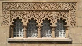 Морокканское традиционное окно стоковая фотография rf