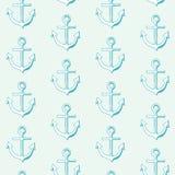 Морская безшовная картина. иллюстрация штока