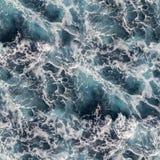 Морская вода безшовная Стоковое Изображение