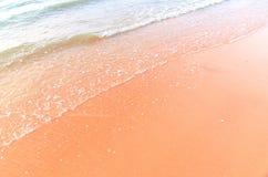 Морская вода на пляже Стоковые Фото