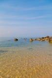 Морская вода на Phu Quoc, Вьетнаме стоковое фото rf