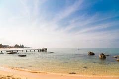 Морская вода на Phu Quoc стоковые изображения
