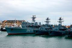 Морская Корабл-школа MIRCEA Гавань Constanta на Чёрном море Рангоут Стоковые Фото