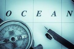 Морская навигация - альбомный формат Стоковая Фотография RF
