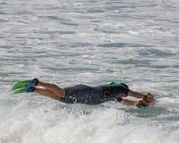 морская съемка Стоковое фото RF