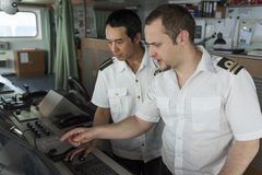 Морская тренировка Стоковое фото RF