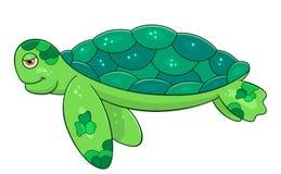 Морская черепаха шаржа Стоковое Фото