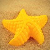 Морские звёзды в песке Стоковые Фотографии RF