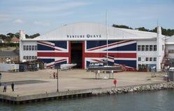 Морские набережные Великобритания рискованого начинания предприятиe бизнеса стоковое изображение rf