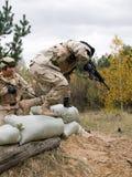 морские пехотинцы мы Стоковое фото RF