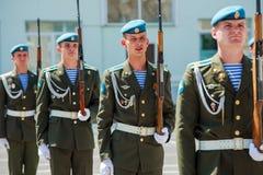 Морские пехотинцы русской армии стоковая фотография rf