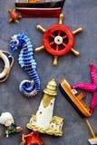 морские предметы стоковые фотографии rf