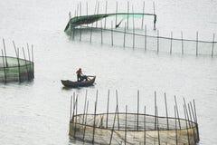 Морские фермы стоковые изображения