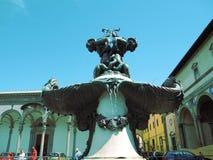 Морские чудовища фонтана стоковая фотография rf