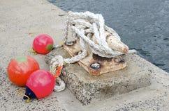 Морское зачаливание Стоковые Фотографии RF