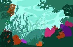 Морское дн дно бесплатная иллюстрация