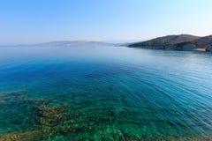 Морское побережье Албания утра лета Стоковые Фото