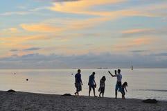 Морское побережье Гданьска Стоковая Фотография RF