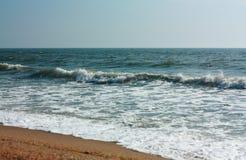 морское побережье Стоковое Фото