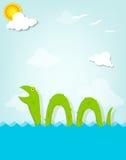 Морское чудовище Стоковое Изображение RF