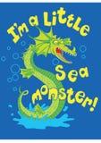 Морское чудовище. Стоковые Фотографии RF