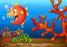 Морское чудовище Стоковое Изображение
