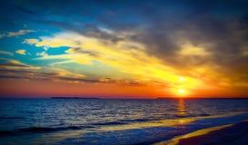 Морское o� ландшафта Чёрное море Стоковая Фотография