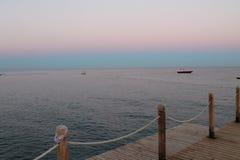 Морской вечер Стоковые Фотографии RF