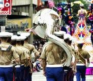 Морской военный оркестр Стоковые Изображения