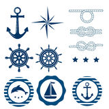 Морской комплект украшения Стоковая Фотография RF