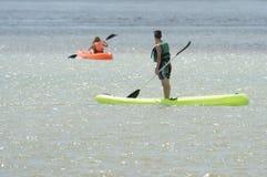 Морской ландшафт повреждает лагуну Chiquitaстоковое фото rf