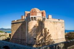 Морской музей в старой крепости в St Tropez стоковые изображения