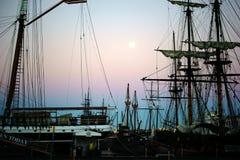 Морской музей Сан-Диего стоковая фотография