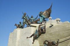 Морской памятник, арены Punta, Чили Стоковое фото RF