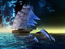 морской пехотинец жизни иллюстрация вектора